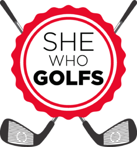 She Who Golfs Logo